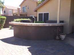 outdoor kitchen island designs outdoor kitchens phoenix masterscapes llc