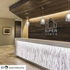 Custom Reception Desk Repost Joanneboche Kiper Homes Custom Reception Desk