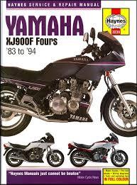 yamaha xj900f fours repair manual 1983 1994 haynes 3239