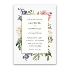 wedding invitations floral floral wedding invitations 2018 wedding trends collection