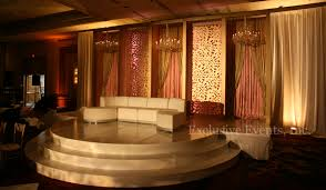 indian weddings in st louis exclusive events staging backdrops and floors
