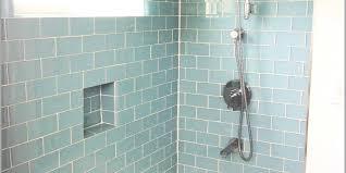 glass subway tile bathroom ideas glass subway tile bathroom complete ideas exle