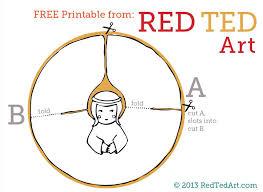 paper angel printable red ted art u0027s blog