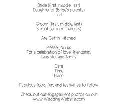 wedding invitations format wedding invitation wording healthy in fort worth from