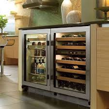 undercounter refrigerator for modern kitchen small house decor