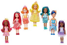 barbie rainbow cove 7 doll gift