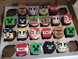 minecraft cupcake ideas 13th birthday minecraft cupcakes minecraft cupcakes minecraft