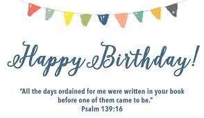 card invitation design ideas happy birthday psalm 139 simple blue
