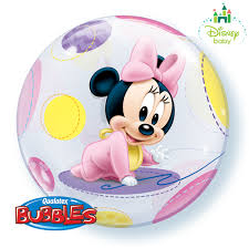 minnie mouse bubble balloon free delivery