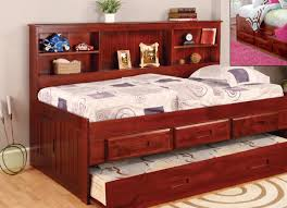 hearth decor daybed discovery world furniture merlot twin size bookcase day