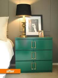 kullen nightstand before after ikea s malm goes classic glam malm ikea hack and