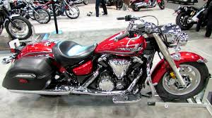 2014 Yamaha V Star 1300 Candy Red Walkaround 2013 New York