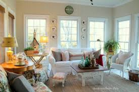 Cozy Sunroom Savvy Southern Style Diy Home Decor Blogs