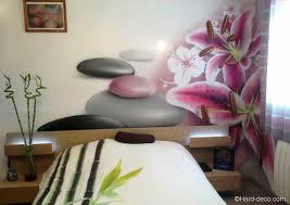 fleurs dans une chambre intérieur japonais décoration deco murale chambre design chambre
