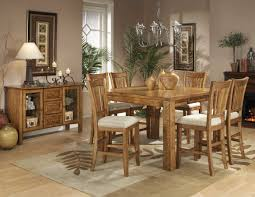 Homelegance Fusion Counter Height TableLight Oak N - Height from dining room table to light