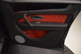 bentley bentayga red interior 2017 bentley bentayga stock b1209 for sale near westport ct