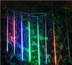 christmas lights net style aliexpress com buy 110v 220v 50cm led meteor shower rain tube