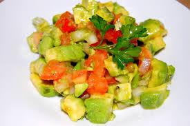 avocat cuisine recette salade d avocats facile tchop afrik a cuisine