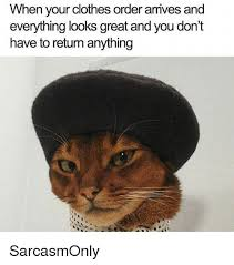 Memes And Everything Funny - when your clothes order armives and everything looks great and you