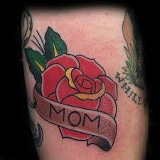 40 traditional mom tattoo designs for men memorial ideas