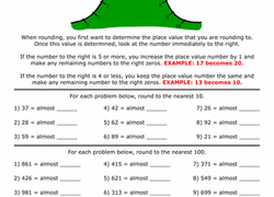 estimation word problems 4th grade 3rd grade rounding estimation worksheets free printables