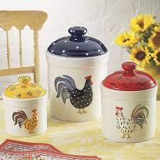rooster kitchen canisters 123 best ceramic canister sets images on kitchen