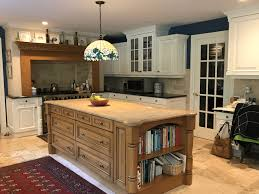 white kitchen cabinets wood trim white kitchen cabinets paired with navy walls monk s in nj