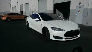 white lexus with black roof tesla gloss black on white u2014 incognito wraps