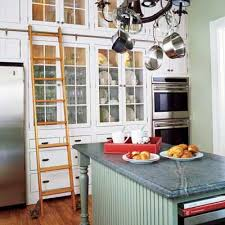 Stylish Kitchen Upgrades From DIY Kits Singers Wooden Ladder - Kitchen cabinets diy kits
