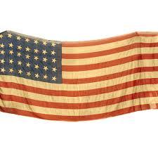Civil War Union Flags Original U S Civil War Union Uss Eutaw 35 Star American Flag