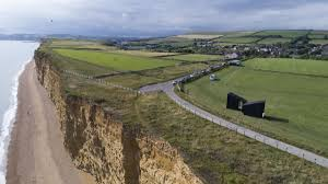 Broadchurch England Map by The Observatory Studio Set Up On A Cliff Top At Burton Bradstock