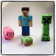 minecraft cake topper edible minecraft cake toppers 40 minecraft