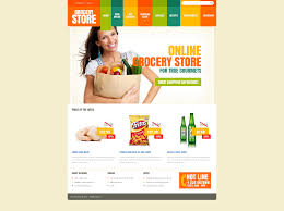 grocery store templates templatemonster