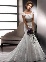 wedding dresses with sash ribbon mermaid scoop removable sash ribbon belt lace wedding dresses with