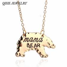 necklaces for mothers day qihe jewelry gold silver tone personalized necklace