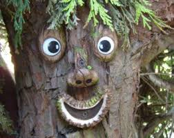 8 best tree faces images on garden ornaments tree