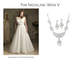 wedding dress necklace the right necklace for your wedding dress mariell bridal