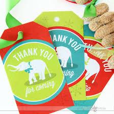 white elephant party printable kit