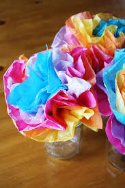 How To Make Mexican Paper Flowers - mexican tissue paper flowers lulu the baker