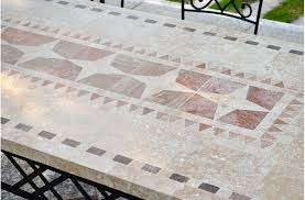 Mosaic Top Patio Table 78 94 Outdoor Patio Dining Table Mosaic Marble Top Ta