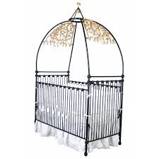 a touch of goth in a baby nursery luxurious baby cribs