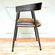 chaise de bureau style industriel chaise type industriel le mobilier de style industriel chaise