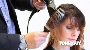 best brush for bob haircut the perfect blowdry technique ribboning with a round brush youtube