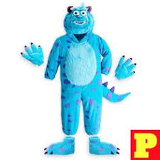 Sully Monsters Halloween Costume Mascot Information Monster Sulley Mascot Costume
