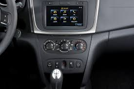 sandero renault interior dacia renault unveil 2013 logan and sandero biser3a