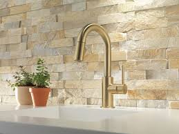 Delta Kitchen Faucet Installation Video by Trinsic Kitchen Collection Kitchen Faucets Pot Fillers And