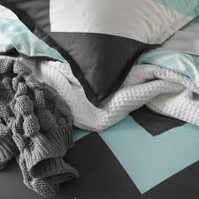 Duvet Quilt Cover Marley Mint Quilt Cover Set By Logan U0026 Mason Planet Linen
