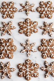 snowflake cookies gingerbread snowflake cookies always eat dessert