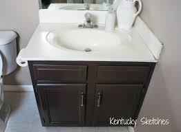 New Vanity My Bathroom Vanity Makeover