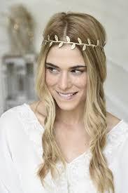goddess headband lavender girl hair accessories goddess leaf headband